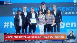 Premio al maestro argentino: la ...