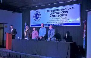 1° Encuentro Nacional de Educación ...