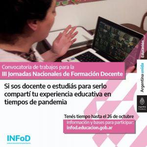 III Jornadas Nacionales de Formación ...